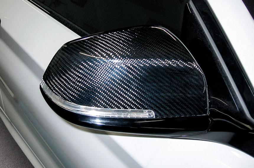 PERL Carbon-Spiegelkappen BMW